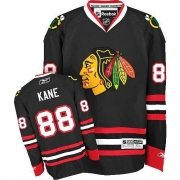 Patrick Kane Chicago Blackhawks Reebok Women's Authentic Third Jersey - Black