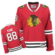 Patrick Kane Chicago Blackhawks Reebok Women's Authentic Home Jersey - Red