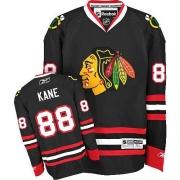 Patrick Kane Chicago Blackhawks Reebok Youth Authentic Third Jersey - Black