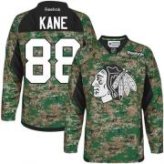 Patrick Kane Chicago Blackhawks Reebok Youth Authentic Veterans Day Practice Jersey - Camo