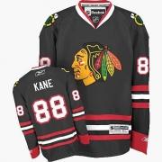 Patrick Kane Chicago Blackhawks Reebok Youth Premier Third Jersey - Black