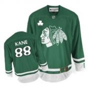 Patrick Kane Chicago Blackhawks Reebok Youth Authentic St Patty's Day Jersey - Green