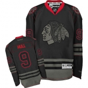 Bobby Hull Chicago Blackhawks Reebok Men's Authentic Jersey - Black Ice