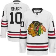 Patrick Sharp Chicago Blackhawks Reebok Women's Authentic 2015 Winter Classic Jersey - White