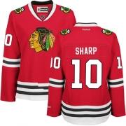 Patrick Sharp Chicago Blackhawks Reebok Women's Authentic Home Jersey - Red