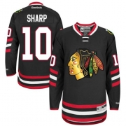 Patrick Sharp Chicago Blackhawks Reebok Youth Authentic 2014 Stadium Series Jersey - Black