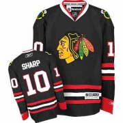 Patrick Sharp Chicago Blackhawks Reebok Youth Authentic Third Jersey - Black