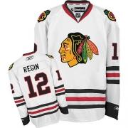 Peter Regin Chicago Blackhawks Reebok Men's Authentic Away Jersey - White