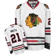 Stan Mikita Chicago Blackhawks Reebok Men's Authentic Away Jersey - White