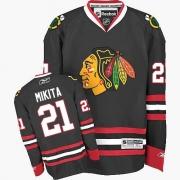 Stan Mikita Chicago Blackhawks Reebok Men's Authentic Third Jersey - Black