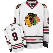 Bobby Hull Chicago Blackhawks Reebok Men's Authentic Away Jersey - White