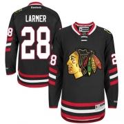 Steve Larmer Chicago Blackhawks Reebok Men's Authentic 2014 Stadium Series Jersey - Black