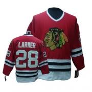 Steve Larmer Chicago Blackhawks CCM Men's Authentic Throwback Jersey - Red