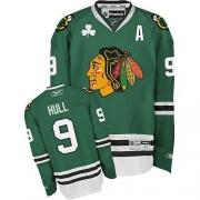 Bobby Hull Chicago Blackhawks Reebok Men's Authentic Jersey - Green