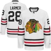 Steve Larmer Chicago Blackhawks Reebok Men's Authentic 2015 Winter Classic Jersey - White