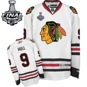 Bobby Hull Chicago Blackhawks Reebok Men's Authentic Away Stanley Cup Finals Jersey - White