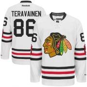 Teuvo Teravainen Chicago Blackhawks Reebok Men's Authentic 2015 Winter Classic Jersey - White