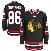 Teuvo Teravainen Chicago Blackhawks Reebok Youth Authentic 2014 Stadium Series Jersey - Black