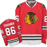 Teuvo Teravainen Chicago Blackhawks Reebok Youth Authentic Home Jersey - Red