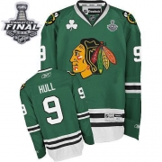 Bobby Hull Chicago Blackhawks Reebok Men's Authentic Stanley Cup Finals Jersey - Green