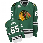 Andrew Shaw Chicago Blackhawks Reebok Men's Authentic Jersey - Green