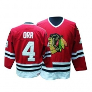 Bobby Orr Chicago Blackhawks CCM Men's Authentic Throwback Jersey - Red