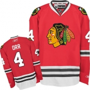 Bobby Orr Chicago Blackhawks Reebok Men's Authentic Home Jersey - Red