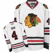 Bobby Orr Chicago Blackhawks Reebok Men's Authentic Away Jersey - White