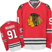 Brad Richards Chicago Blackhawks Reebok Men's Authentic Home Jersey - Red