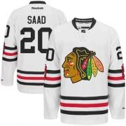 Brandon Saad Chicago Blackhawks Reebok Men's Authentic 2015 Winter Classic Jersey - White