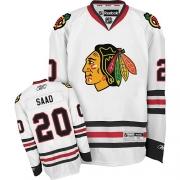 Brandon Saad Chicago Blackhawks Reebok Men's Authentic Away Jersey - White