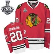 Brandon Saad Chicago Blackhawks Reebok Men's Premier Home Stanley Cup Finals Jersey - Red