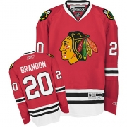 Brandon Saad Chicago Blackhawks Reebok Youth Authentic Home Jersey - Red