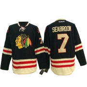 Brent Seabrook Chicago Blackhawks Reebok Men's Authentic 2015 Winter Classic Jersey - Black