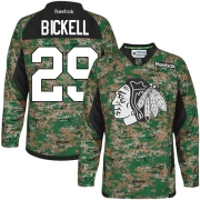 Bryan Bickell Chicago Blackhawks Reebok Men's Authentic Veterans Day Practice Jersey - Camo
