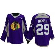 Bryan Bickell Chicago Blackhawks Reebok Men's Authentic Hockey Fights Cancer Jersey - Purple