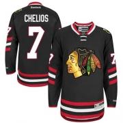 Chris Chelios Chicago Blackhawks Reebok Men's Authentic 2014 Stadium Series Jersey - Black