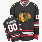 Clark Griswold Chicago Blackhawks Reebok Men's Authentic Third Jersey - Black