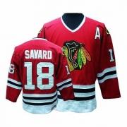 Denis Savard Chicago Blackhawks CCM Men's Authentic Throwback Jersey - Red