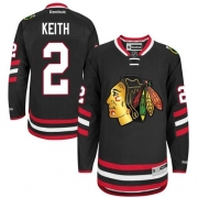 Duncan Keith Chicago Blackhawks Reebok Youth Authentic 2014 Stadium Series Jersey - Black