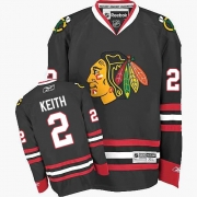 Duncan Keith Chicago Blackhawks Reebok Youth Authentic Third Jersey - Black