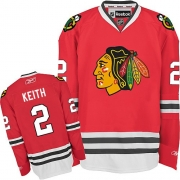 Duncan Keith Chicago Blackhawks Reebok Youth Authentic Home Jersey - Red