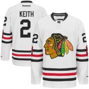Duncan Keith Chicago Blackhawks Reebok Youth Premier 2015 Winter Classic Jersey - White