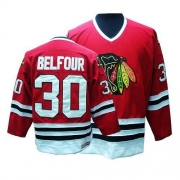 ED Belfour Chicago Blackhawks CCM Men's Authentic Throwback Jersey - Red