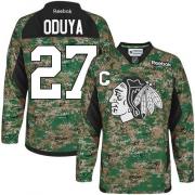 Johnny Oduya Chicago Blackhawks Reebok Men's Premier Veterans Day Practice Jersey - Camo