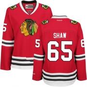 Andrew Shaw Chicago Blackhawks Reebok Women's Premier Home Jersey - Red