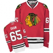 Andrew Shaw Chicago Blackhawks Reebok Youth Authentic Home Jersey - Red