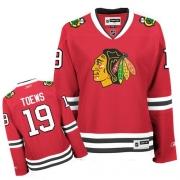 Jonathan Toews Chicago Blackhawks Reebok Women's Authentic Home Jersey - Red