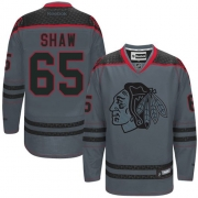 Andrew Shaw Chicago Blackhawks Reebok Men's Authentic Cross Check Fashion Jersey - Storm