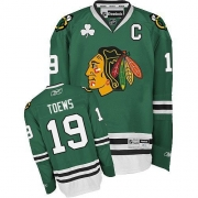Jonathan Toews Chicago Blackhawks Reebok Youth Authentic Jersey - Green